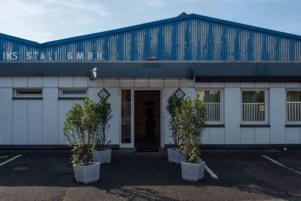 Eingang IKS Stali GmbH